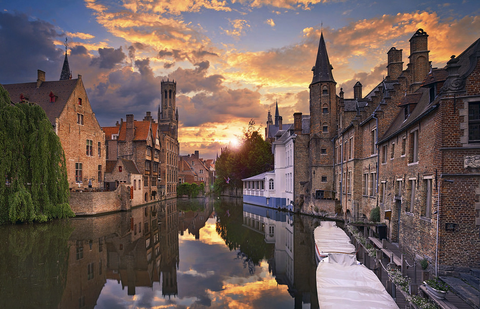 24 hours in charming Bruges!