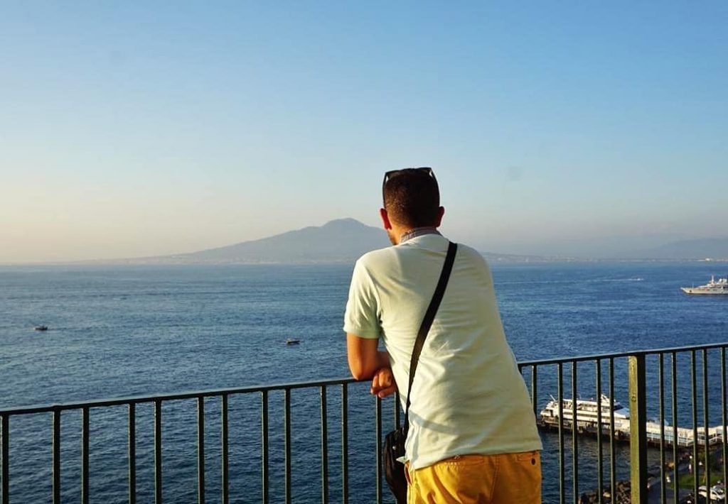 5 days in Sorrento : terrace view