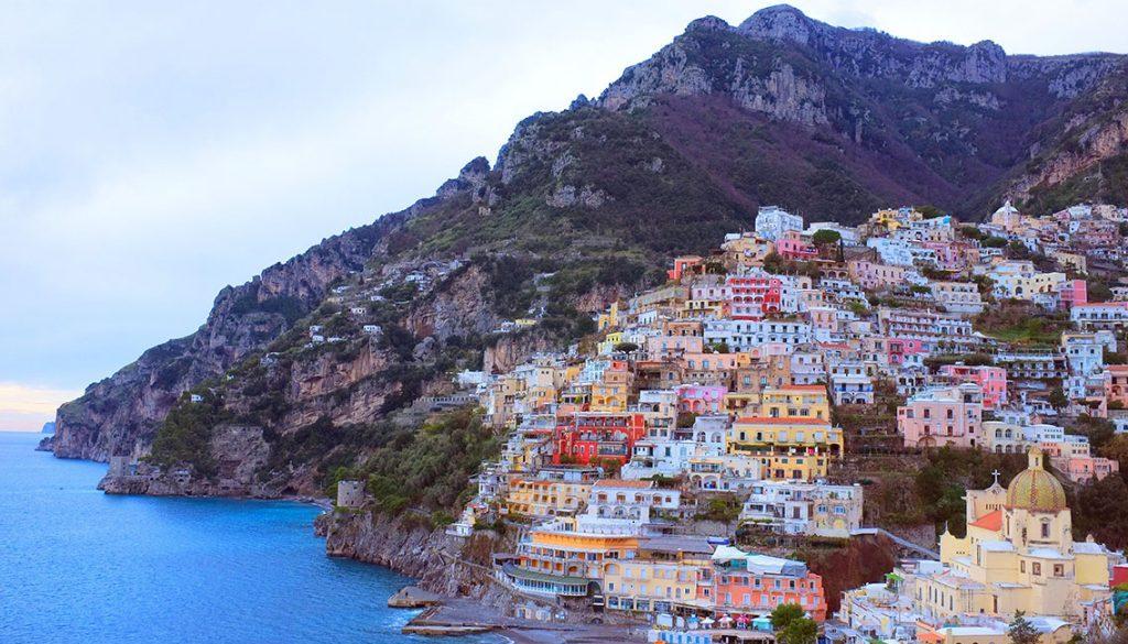 Amazing moments At The Italian Coast