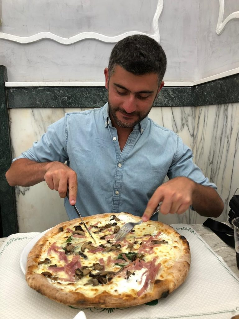 Amazing moment Pizzeria Italy Naples