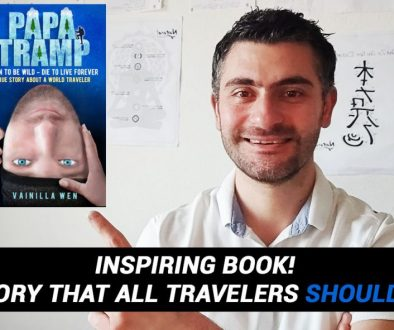 BEST BOOKS TO READ 2020: PAPA TRAMP – Inspiring World Traveler True Story