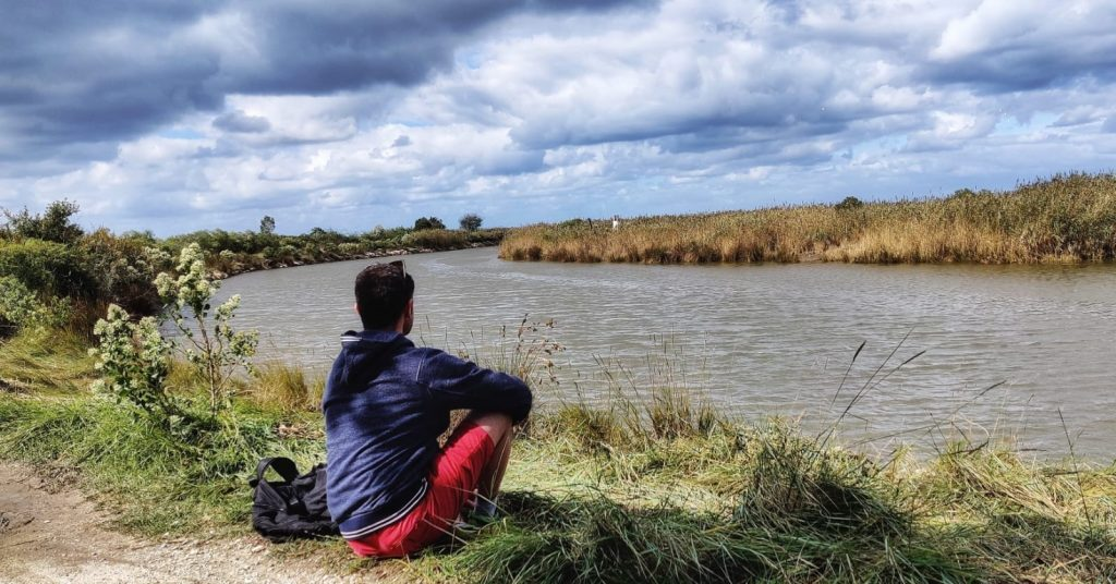 Hike trails in Bordeaux - Coastline Le Teich